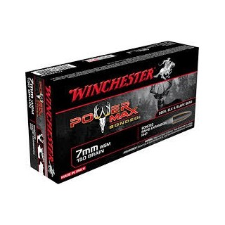 Munición Winchester 7 WSM Power Max 150 Grains